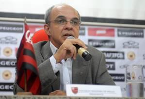 O presidente do Flamengo, Eduardo Bandeira de Mello, em foto de arquivo Foto: Divulgação / Flamengo