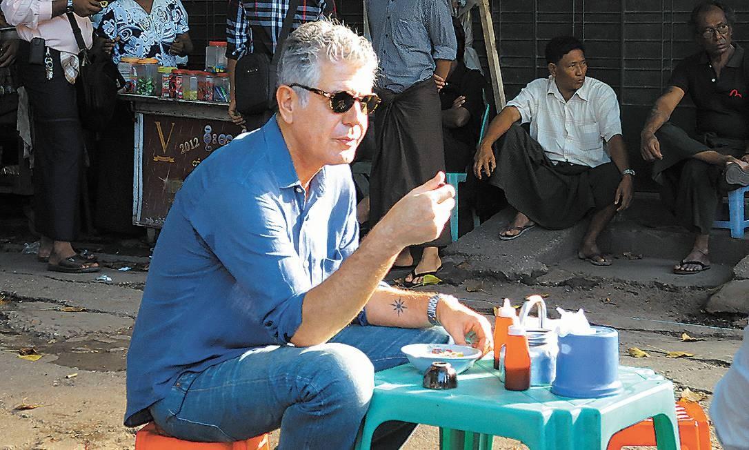 Em Mianmar, no primeiro episódio da nova atração, que explora locais pouco conhecidos Foto: Divulgação