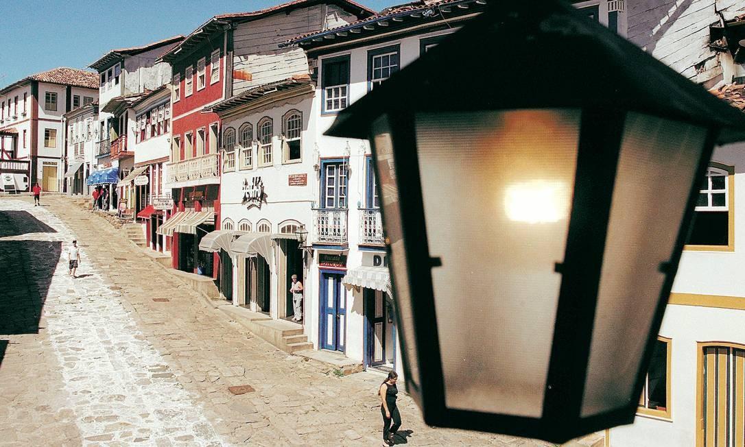 A cidade histórica de Diamantina, em Minas Gerais, receberá, em setembro, o Segundo Festival de História, cujo tema são os derrotados e esquecidos desde o Brasil Colônia até o fim da ditadura militar Foto: André Teixeira