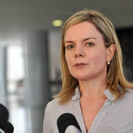 A ministra-chefe da Casa Civil, Gleisi Hoffmann: potencial candidata ao governo do Paraná Foto: Agência Brasil / Antonio Cruz