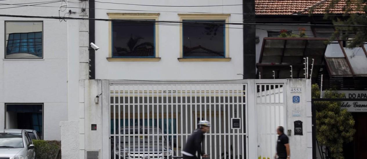 Fachada do número 4.553 da Avenida Brigadeiro Luiz Antônio, endereço da RCA e também da JB Lar Foto: Eliária Andrade