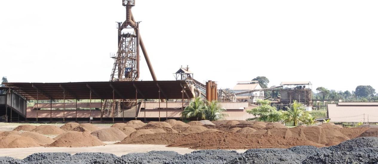 A siderúrgica Carajás é uma das sete fechadas em Marabá. Seis mil postos de trabalho foram eliminados na cidade Foto: FOTO: Michel Filho / Agência O Globo
