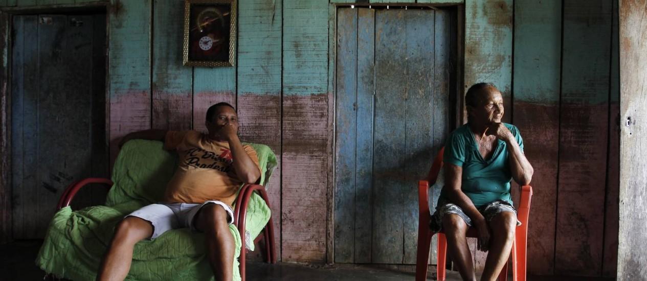 Moradores de São João do Araguaia estão apreensivos com as obras da Hidrelétrica de Marabá Foto: FOTO: Michel Filho / Agência O Globo