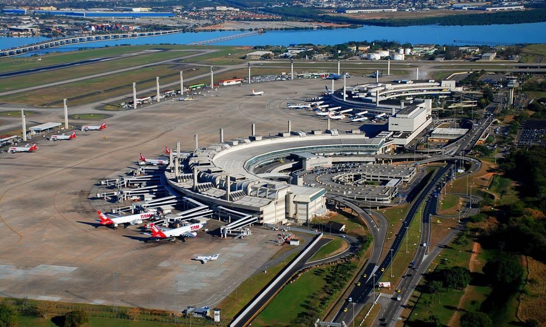 Aeroporto Rio De Janeiro : Aeroportos do rio de janeiro sobem em ranking