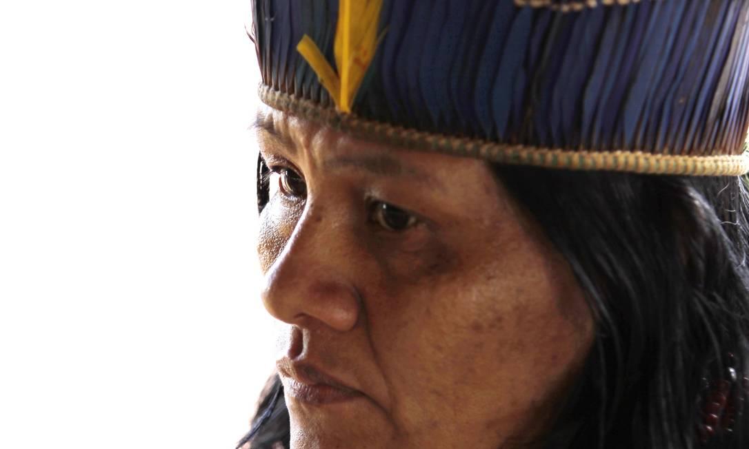 Em Dourados (MS), um levantamento mostrou aumento de 800% na violência nas aldeias e reservas indígenas Michel Filho / Agência O Globo
