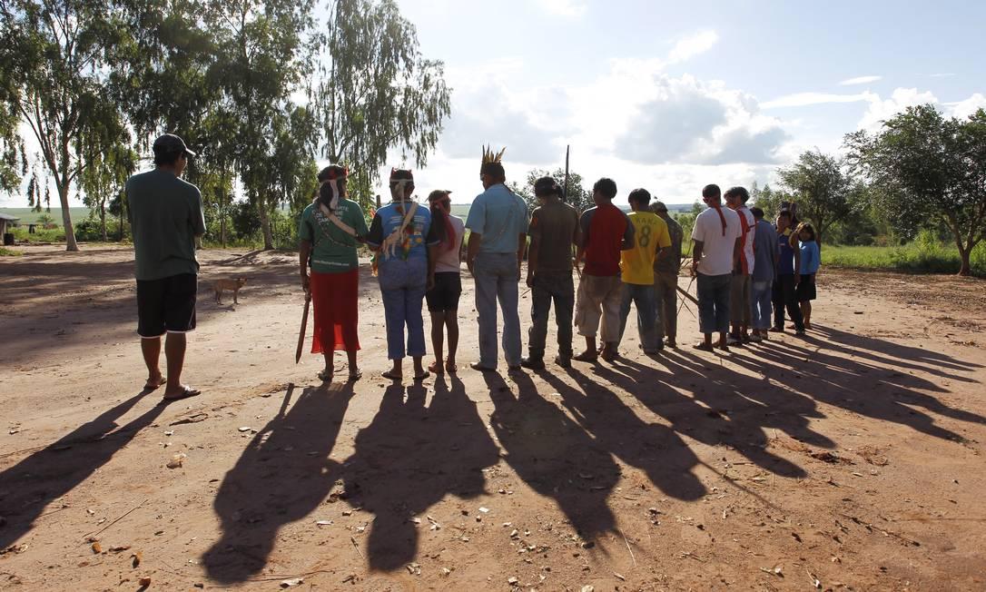 A demarcação ameaça avançar por terras produtivas dos fazendeiros tradicionais da região, numa área que pode chegar a um milhão de hectares Michel Filho / Agência O Globo