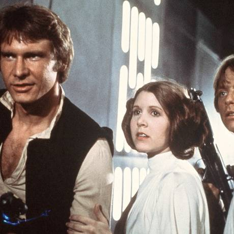 Cena de 'Guerra nas estrelas'; exibição especial do filme vai tirar dúvidas de 'novatos' no assunto Foto: AP