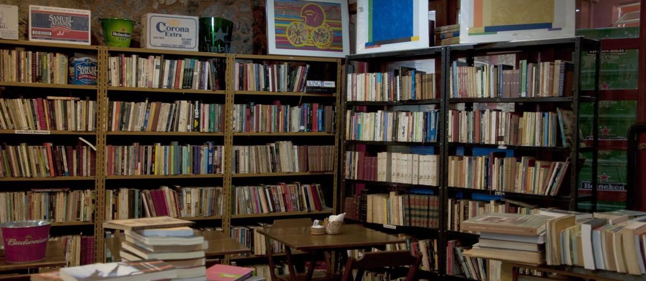 Livraria Al Fahabi, no Rio de Janeiro Foto: Paula Huven / Agência O Globo