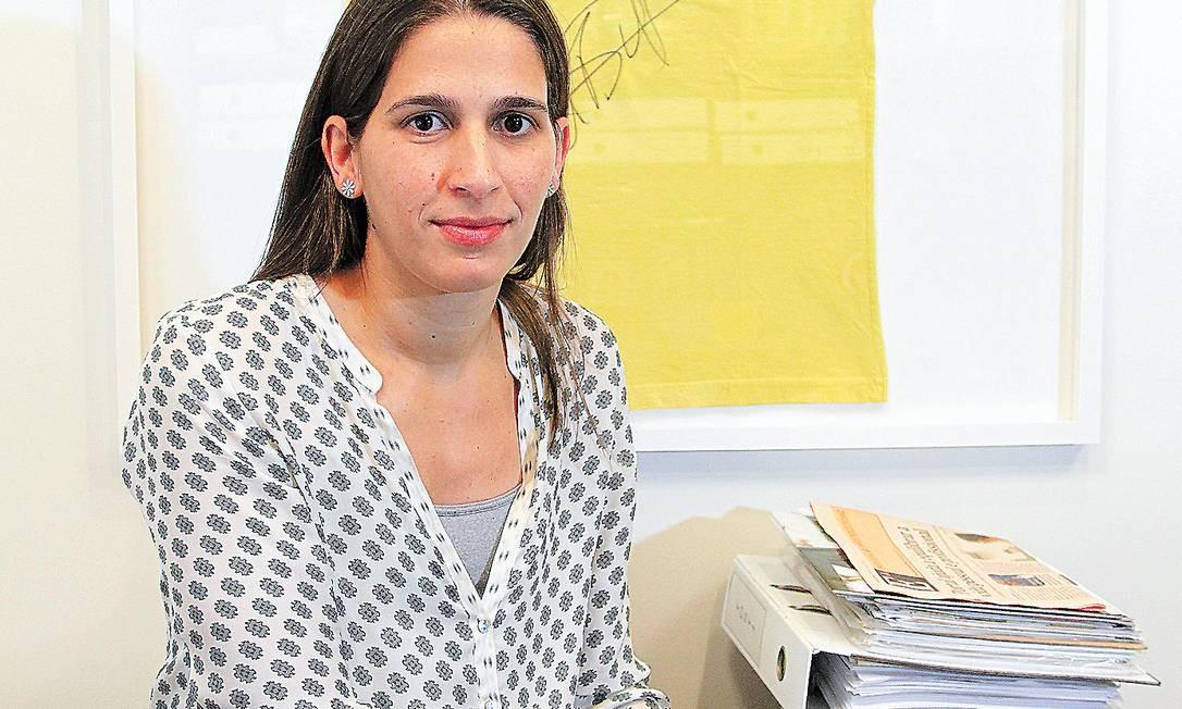 Maria Pia comprou entrada para dar ao marido no Natal, mas ficou sem voucher para presenteá-lo Foto: Carlos Ivan