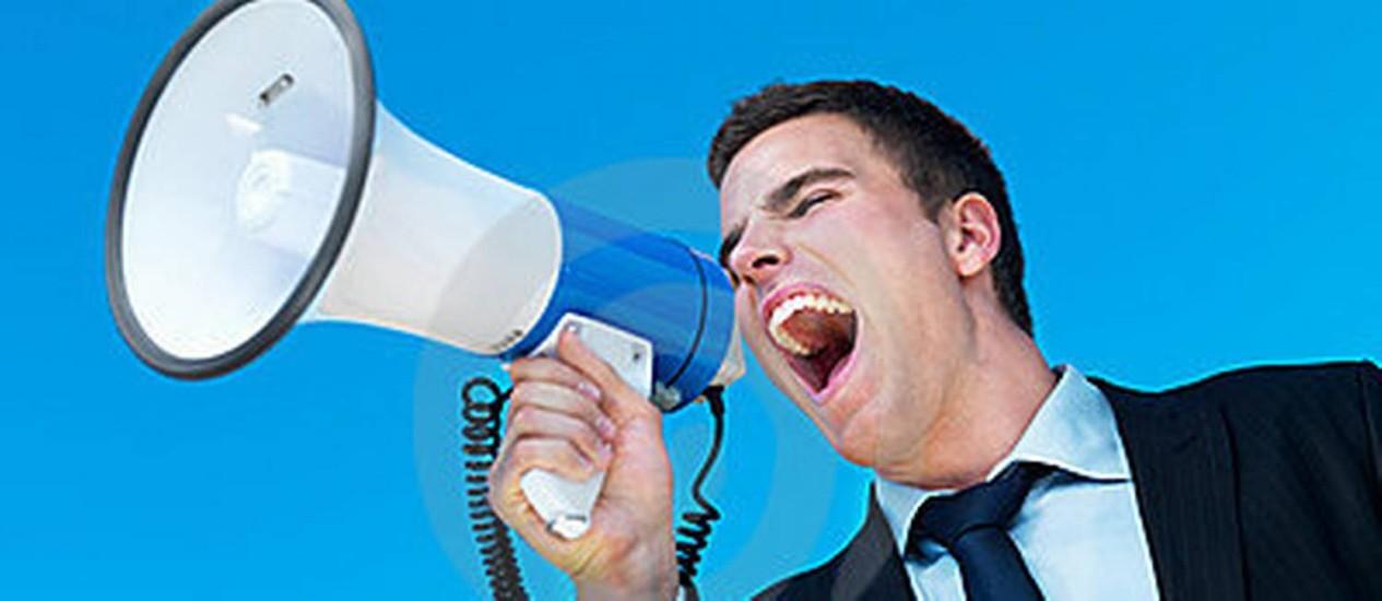 megafone Foto: Reprodução da internet