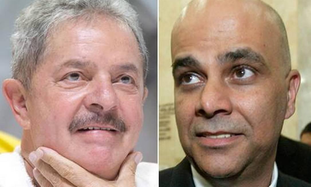 O publicitário Marcos Valério acusa o ex-presidente Lula de ter se beneficiado do esquema do mensalão Foto: Arquivo O Globo