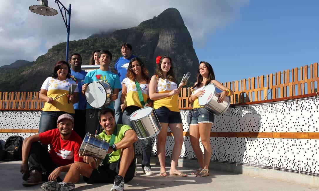 Folia. Turbilhão Carioca começa a se preparar para o carnaval Foto: Rafael Moraes