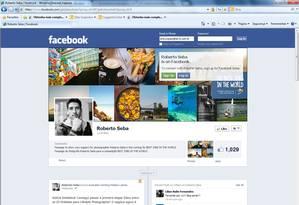 O brasileiro Roberto Seba criou uma fun page para angariar apoio à sua candidatura a um dos 'Melhores empregos no mundo' nas redes sociais. Foto: Reprodução da internet