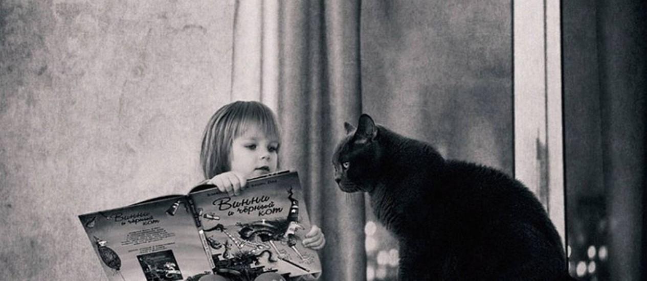 Foto da série Kate & Cat, feita pelo fotógrafo russo Andy Prokh Foto: Divulgação / Andy Prokh