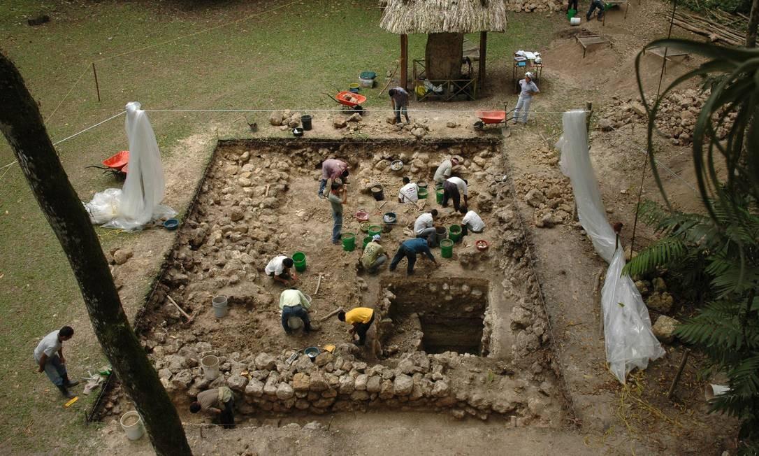 Descoberta aprofunda mistério da origem da civilização Maia