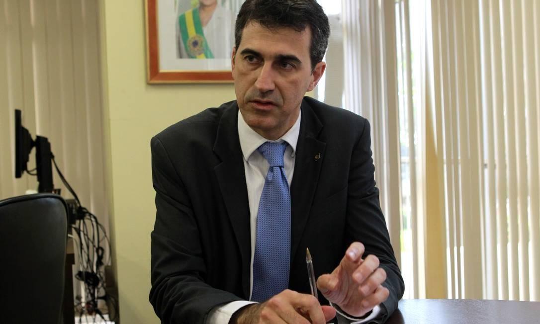 O secretário nacional de Políticas sobre Drogas, Vitore Maximiano Foto: Givaldo Barbosa / Agência O Globo