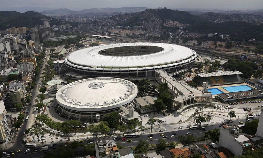 Obras do Maracanã na reta final. Divulgação / Secretaria Municipal de Obras