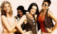 Daniele Valente, Deborah Secco, Maria Mariana e Georgiana Góes na série 'Confissões de adolescente'