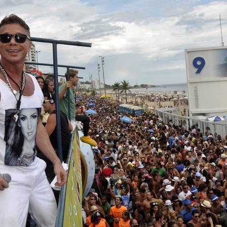 Netinho durante um show no Rio de Janeiro em fevereiro deste ano Foto: Divulgação