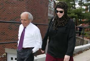 Katherine Russell, viúva de Tamerlan Tsarnaev Foto: Stew Milne / AP