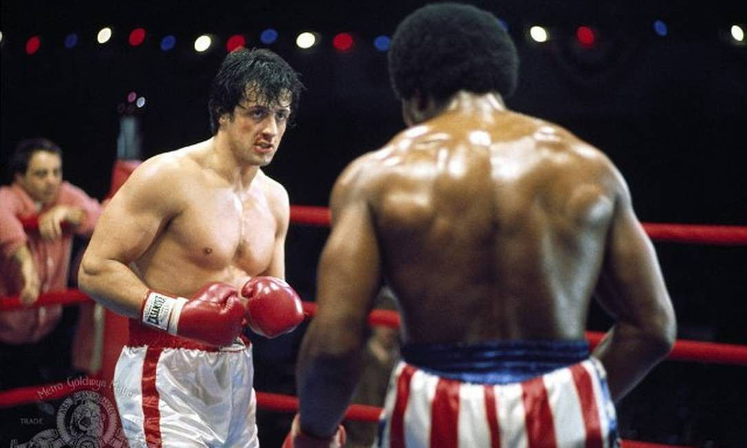 O personagem Rocky Balboa, eternizado por Sylvester Stallone Foto: Divulgação