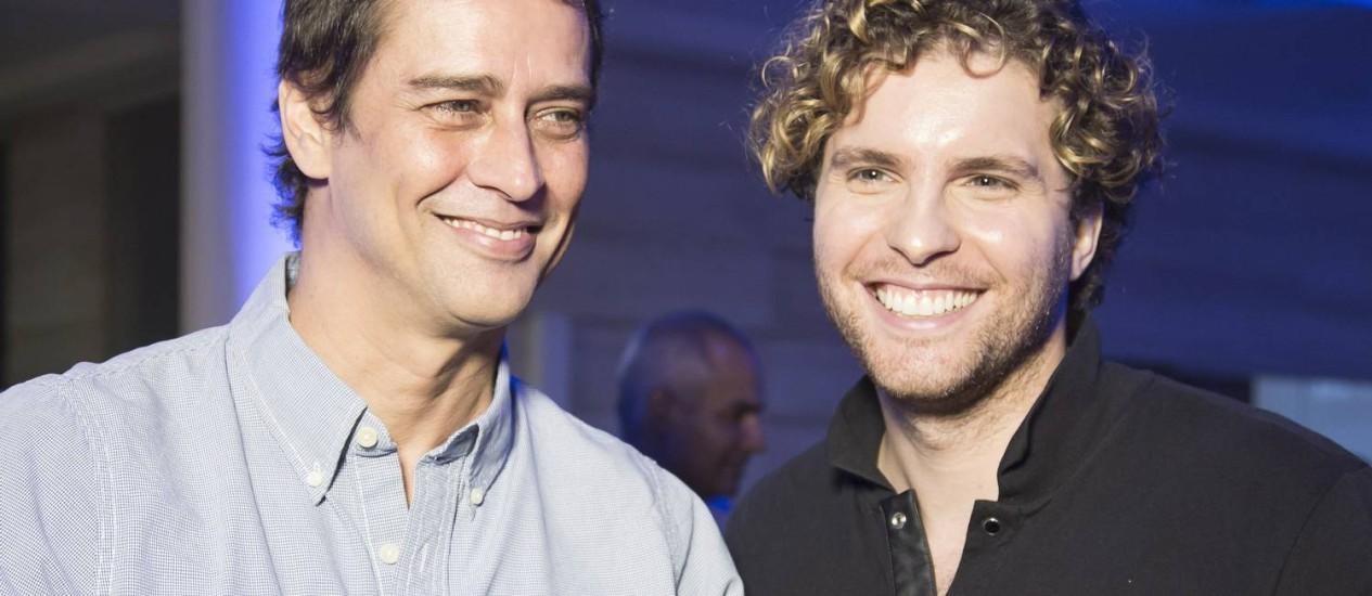 """Marcello Antony e Thiago Fragoso viverão um casal gay em """"Amor à vida"""", nova novela das 21h da Globo Foto: Leo Martins"""