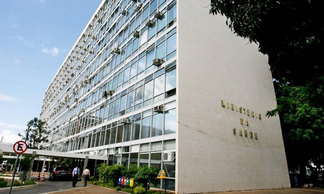 Ministério da Saúde, em Brasília Foto: Reprodução da internet