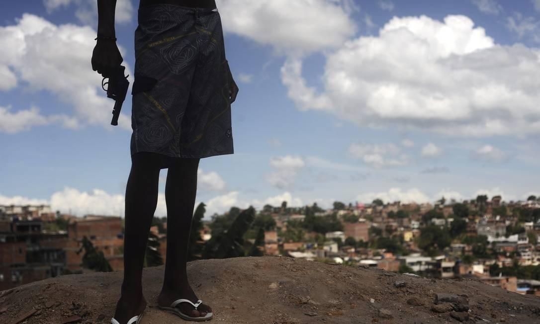 Segundo o Centro Brasileiro de Estudos Latino-americanos, o índice de assassinatos subiu 250% Foto: LUNAE PARRACHO / REUTERS