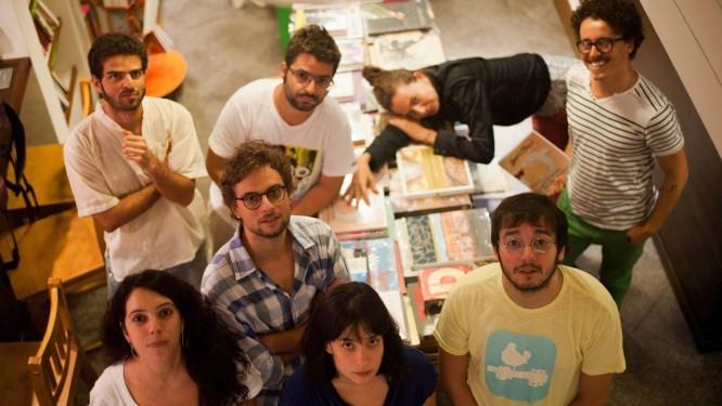 Coletivo Ornitorrinco é formado por artistas visuais, poetas, atores e compositores Foto: Terceiro / Divulgação/ Camilo Lobo