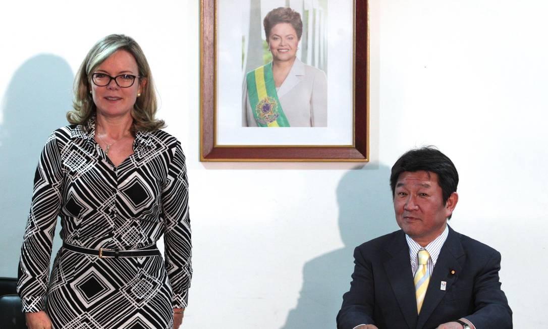 Ministra chefe da Casa Civil, Gleisi Hoffmann Foto: Agência O Globo / André Coelho