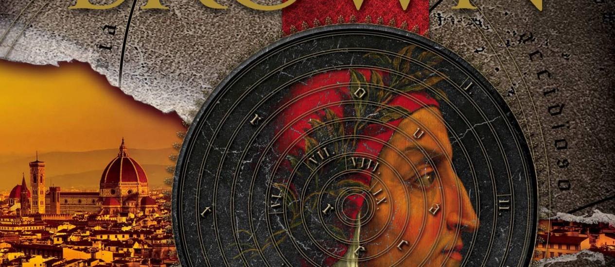 """Capa de """"Inferno"""", novo livro de Dan Brown Foto: Terceiro / Divulgação"""