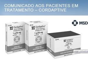 Fabricante recolhe medicamento do mercado mundial por 'efeitos colaterais graves' Foto: Reprodução da internet