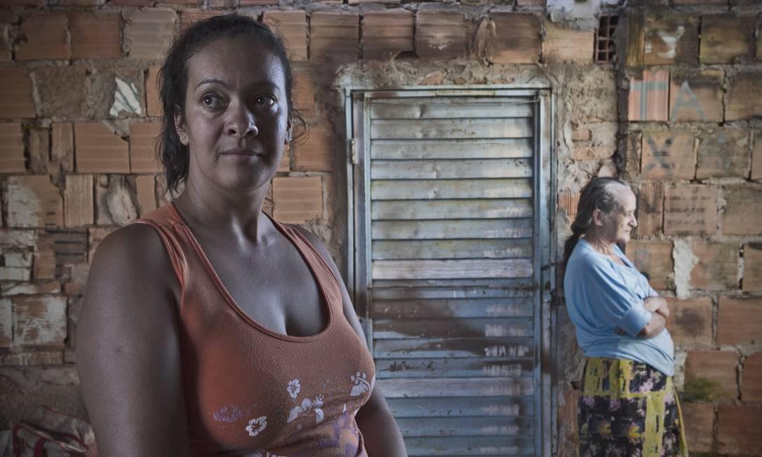 Rosana não quer carteira assinada por temer perder Bolsa Família Foto: André Coelho / O Globo