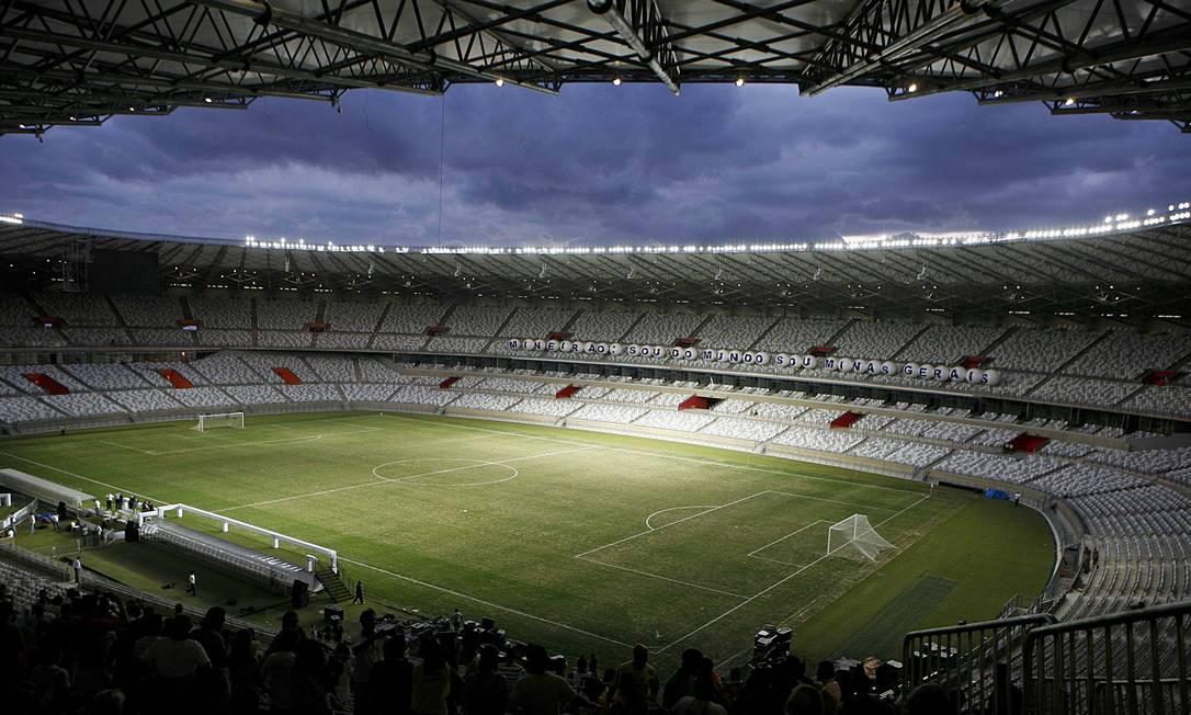 O Mineirão foi reinaugurado no início deste ano, em 3 de fevereiro Washington Alves / Reuters