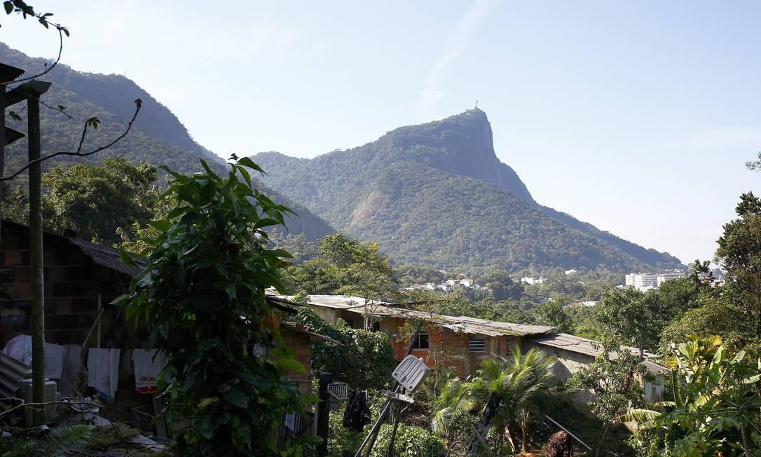A comunidade do Caxinguelê é uma das que será removida do Jardim Botânico: segundo ambientalistas, saída permitirá recomposição do ecossistema local Foto: Pablo Jacob / O Globo