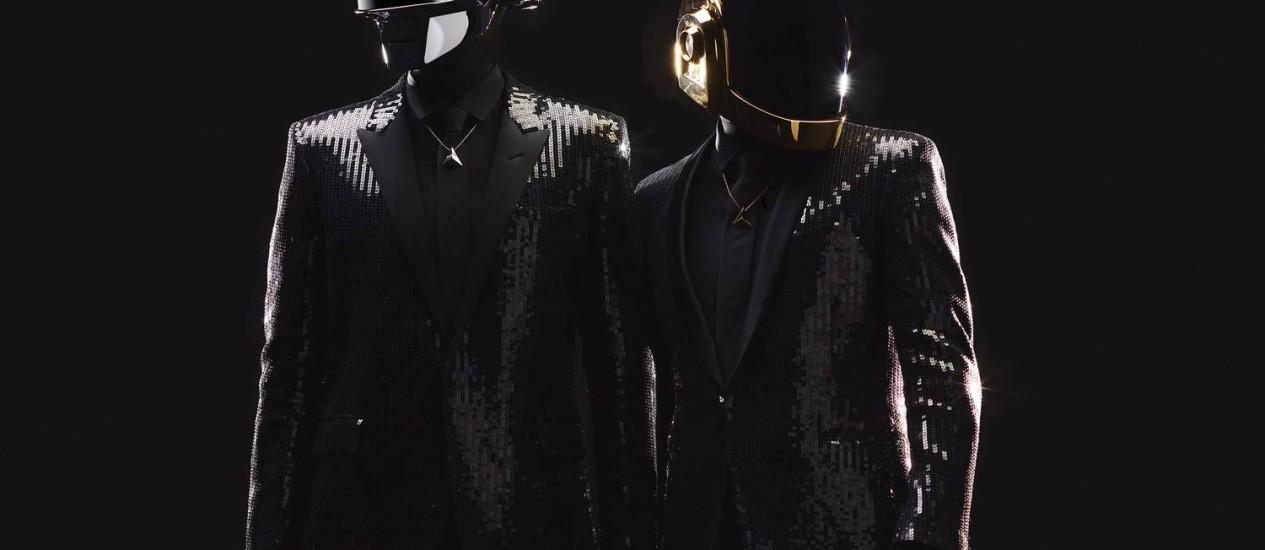 O duo francês Daft Punk Foto: Divulgação