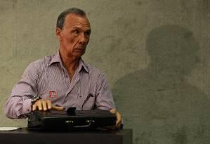 O ex-sargento Marival Chaves presta depoimento à Comissão Nacional da Verdade Foto: Ailton de Freitas / Agência O Globo