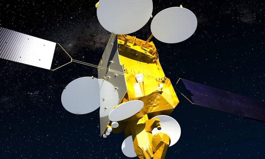 Modelo tridimensional do satélite SES-6 Foto: Divulgação