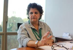 Ministra do Meio Ambiente diz que não pode deixar as pessoas sem alternativas Foto: Givaldo Barbosa / O Globo
