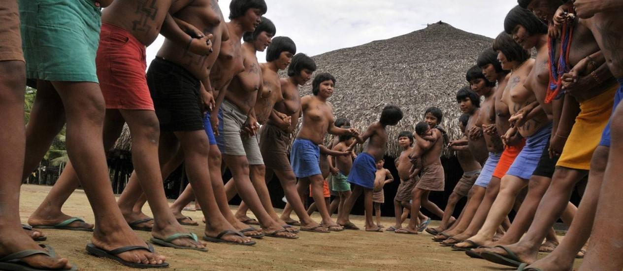 Os índios Waimiri Atroari Foto: Terceiro / Waimiris Atroaris