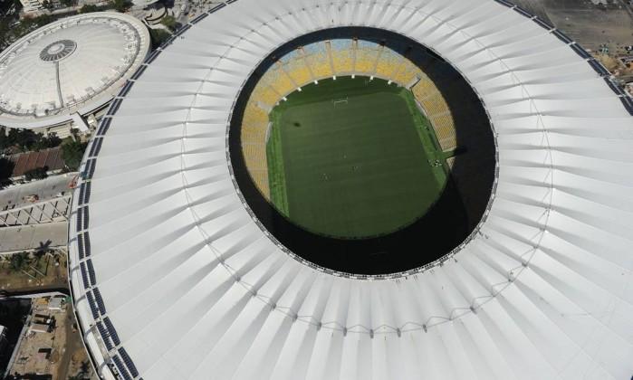 Maracanã vai receber três jogos da Copa das Confederações Vanderlei Almeida/AFP
