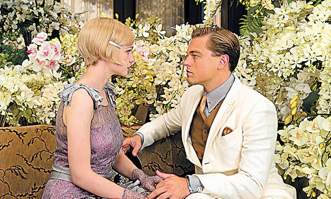 """Abertura. """"O grande Gatsby"""", com Carey Mulligan e Leonardo DiCaprio Foto: Daniel Smith / Fotos de Divulgação"""