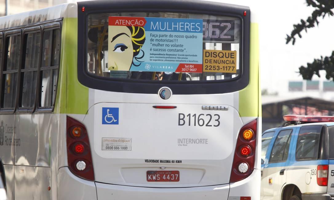 """Empresa muda o alvo na tentativa de """"humanizar"""" o serviço: anúncio não exige experiência Foto: Pablo Jacob / O Globo"""