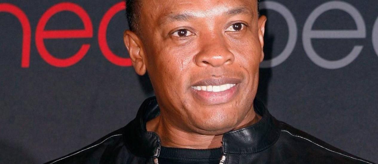 O rapper, produtor e empresário Dr Dre Foto: Arquivo