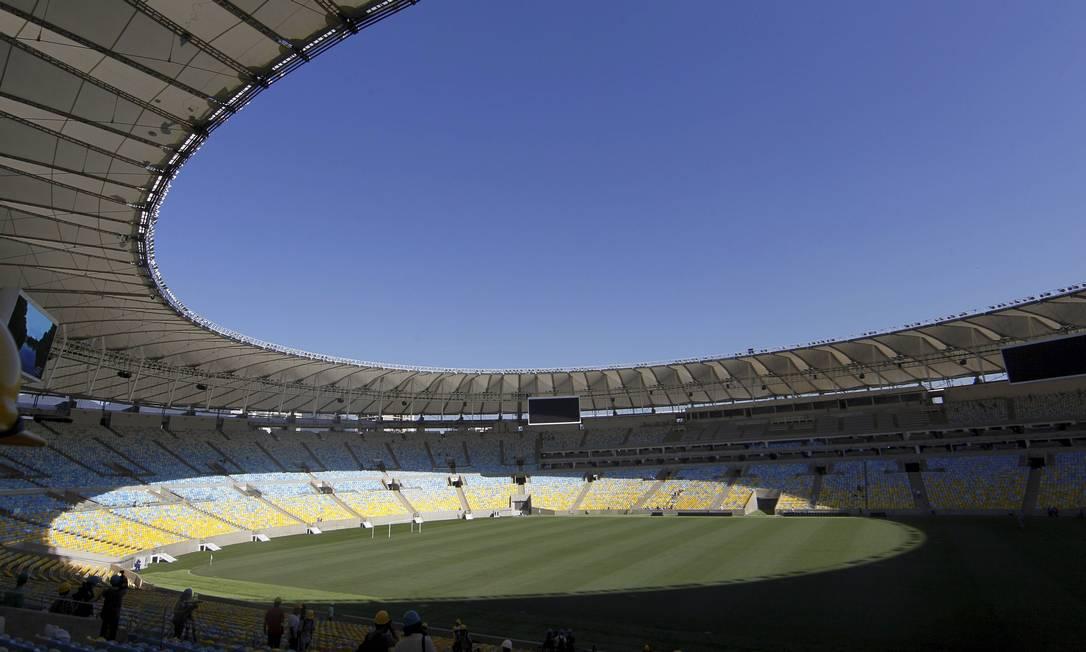 Maracanã será palco dos dois jogos com maior procura de ingressos na Copa das Confederaçoes, segundo a Fifa Cezar Loureiro / Agência O Globo