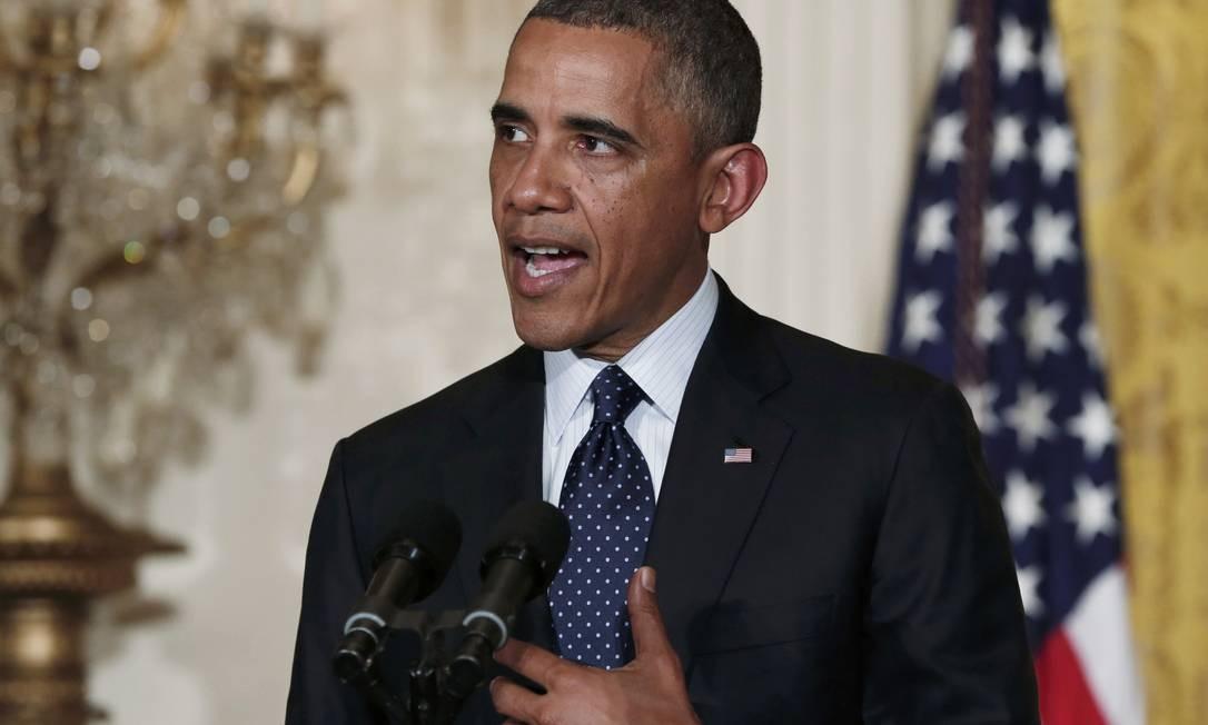 Presidente Barack Obama virou alvo de ataques por explicações do ataque ao consulado americano em Bengazhi Foto: KEVIN LAMARQUE / REUTERS
