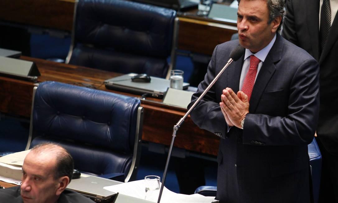 Para senador, desafio é reposicionar o PSDB na centro esquerda Foto: O Globo / Ailton de Freitas