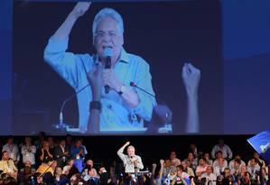 Fernando Henrique Cardoso discursa na Convenção do PSDB Foto: Ailton de Freitas / Agência O Globo
