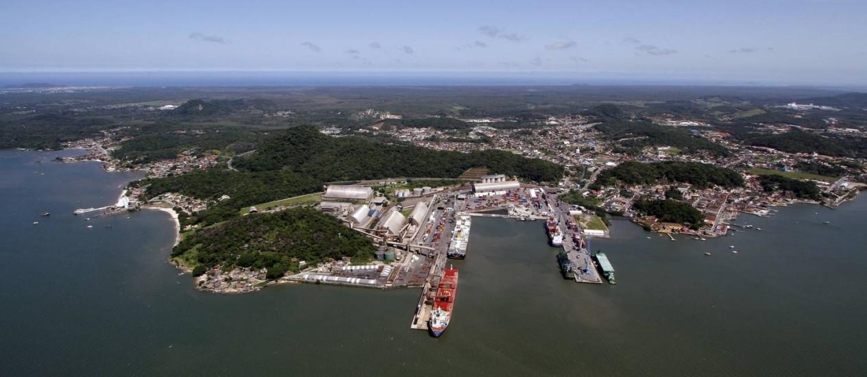 Porto de São Francisco do Sul, em Santa Catarina, é o melhor colocado entre 12 portos nacionais listados em pesquisa do Ilos. Em cinco anos, recebeu investimentos públicos e privados de cerca de R$ 250 milhões Foto: Divulgação