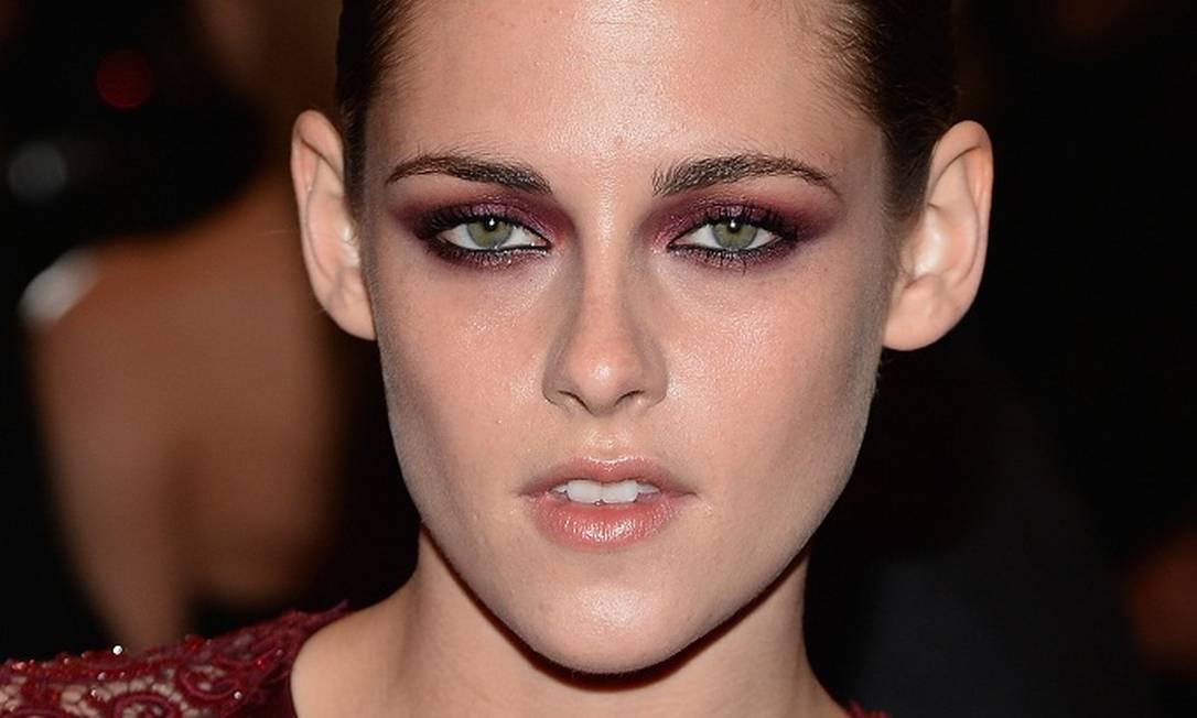 "A atriz Kristen Stewart, da saga ""Crepúsculo"" Foto: Dimitrios Kambouris / AFP"